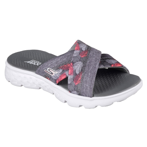 Skechers 14667 GRY Women's ON THE GO 400-TROPICAL Sandal