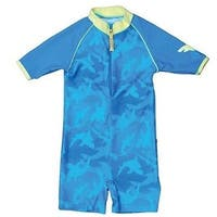 Banz S13SS-FP-00 2013 Baby Swimsuit, Fin Frenzy - Size 00