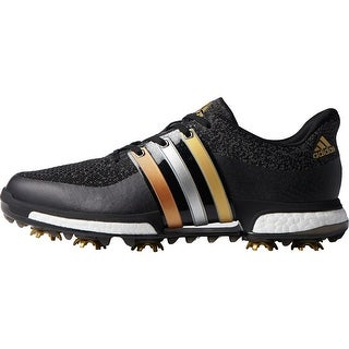 Adidas Men's Tour 360 Prime Boost Core Black/Gold Metallic/Core Black Golf Shoes F33487