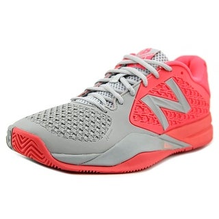 New Balance WC996 Women Round Toe Synthetic Pink Tennis Shoe