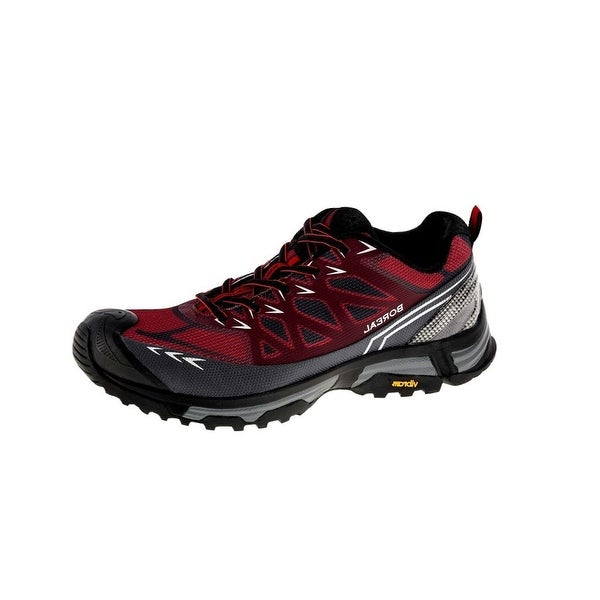 Boreal Climbing Shoes Mens Lightweight Alligator Black Maroon 31645