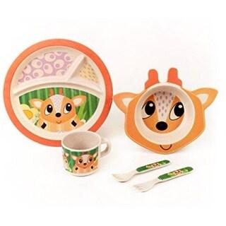 Baby The Deer Bamboo Kids Meal Set