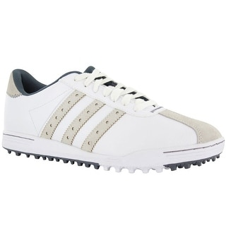 Adidas Men's Adicross Classic White/White/Onix Golf Shoes Q44592