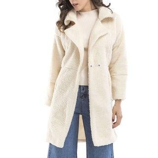 Link to Women Fur Coats  Faux Shearling Shaggy Oversized Coat Jacket With Pockets Warm Winter Similar Items in Women's Outerwear