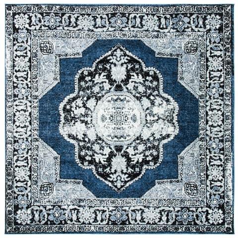 SAFAVIEH Vintage Hamadan Hediye Oriental Distressed Rug