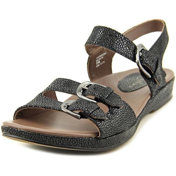 Earthies Verdon Open Toe Patent Leather Sandals