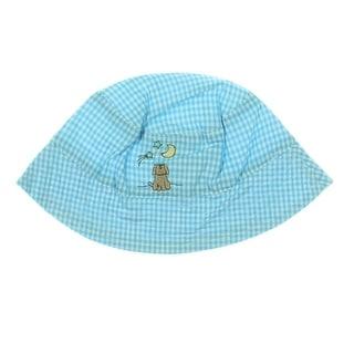 Elegant Baby Puppy Infants Checkered Sun Hat - 6-12 mo