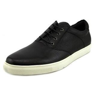 Joe's Jeans Xride Men Round Toe Leather Black Oxford