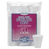 Dart Cont. 8.5Oz Foam Cups 8RP51 Unit: PKG Contains 24 per case