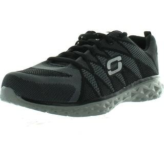 Skechers Men's Propulsion Mission Statement Training Shoe Sneakers - Black/Charcoal - 9.5 d(m) us