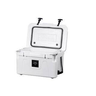 Monoprice Pure Outdoor Emperor 25 Liter Cooler - White