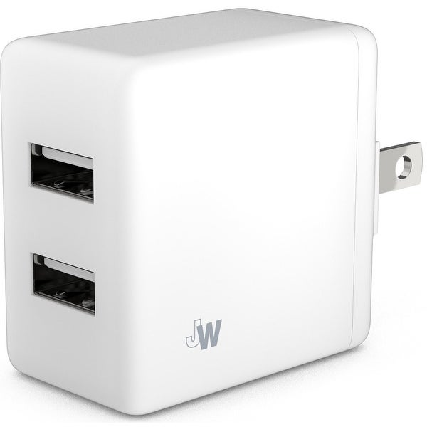 Just Wireless 705954045007 Dual USB Home Charger without Cable - (Refurbished)