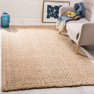Link to Safavieh Handmade Natural Fiber Albertdine Jute Rug Similar Items in Farmhouse Rugs
