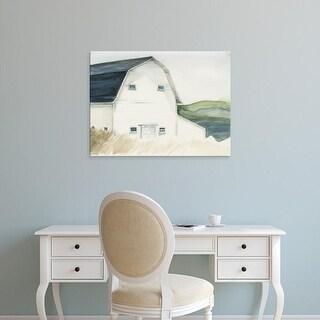 Easy Art Prints Jennifer Paxton Parker's 'Watercolor Barn IV' Premium Canvas Art