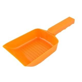 Plastic Gravel Strainer Shovel Clean Tool Orange for Aquarium Fish Tank