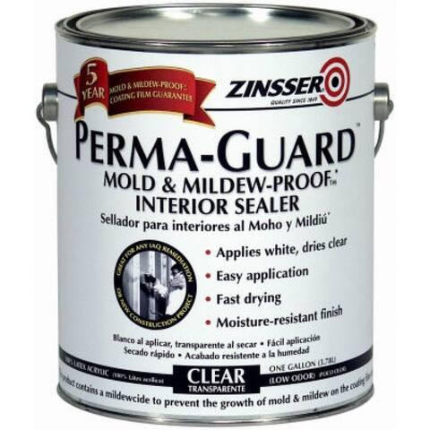 Zinsser 2681 Perma-Guard Mold & Mildew Proof Interior Sealer, 1-Gallon