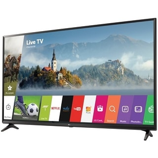 LG 49UJ6300 49-inch 4K Ultra HD LED Smart TV - 3840 x 2160 - (Refurbished)