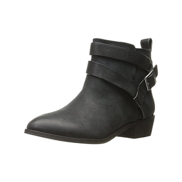 Splendid Womens Holland Ankle Boots Leather Belted