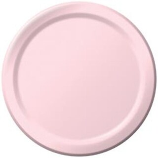 "Classic Pink - Luncheon Plates 7"" 24/Pkg"