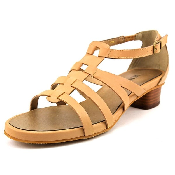 Vaneli Kezia Open Toe Leather Sandals