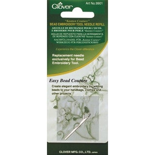 Kantan Couture Bead Embroidery Tool Needle Refill-Single Ply