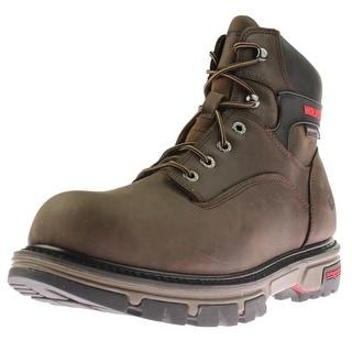 Wolverine Mens Leather Waterproof Work Boots