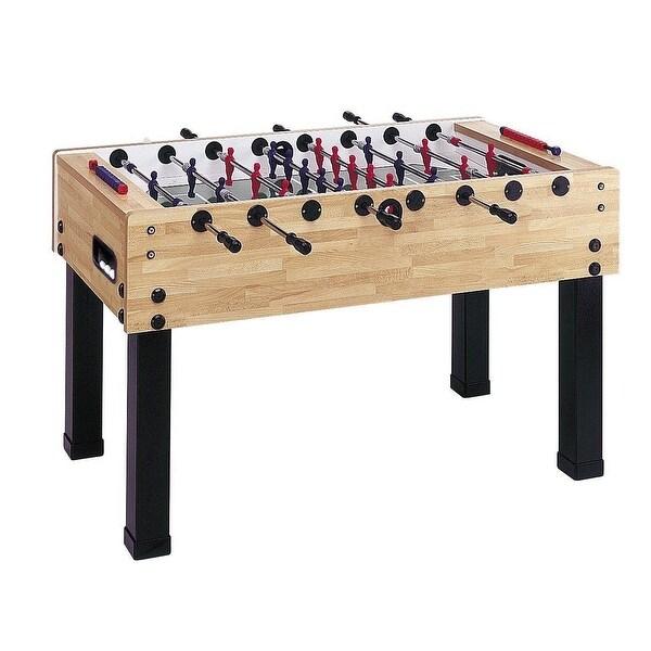 "Garlando G-500 Butcher Block Foosball Table 56"" L x 30"" W x 35"" H / IMP 26-7910"