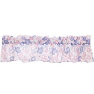 Bedtime Originals Pink Butterfly Meadow Valance