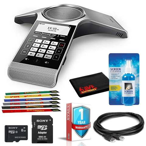 Yealink CP930W Conference DECT IP Phone (Base Station Not Included)