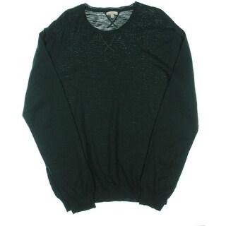 Calvin Klein Jeans Mens Cotton Long Sleeves Crewneck Sweater - XL
