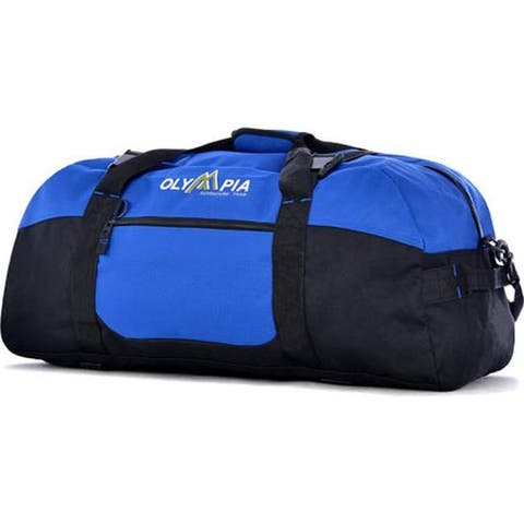 """Sports Plus 30"""" Sports Duffel Display Card Royal Blue - US One Size (Size None)"""