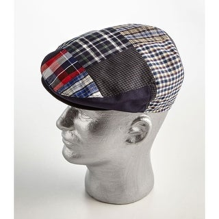 Women's Men's Plaid Ivy Newsboy Cap - Medium