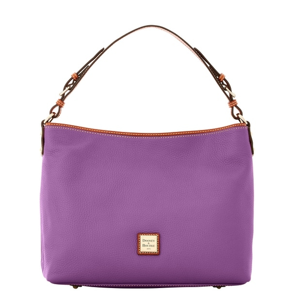 Dooney & Bourke Pebble Grain Large Courtney Sac (Introduced by Dooney & Bourke at $298 in Sep 2016) - Purple