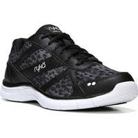 Ryka Women's Dream Training Shoe Black/Iron Grey/White
