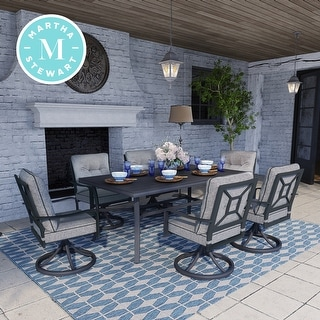 Link to Martha Stewart Thornfield 7-piece Patio Dining Set Similar Items in Patio Furniture