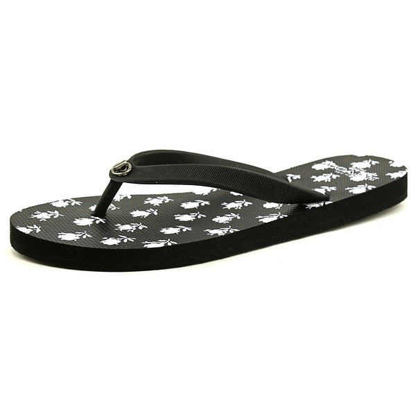Coach Alyssa Open Toe Synthetic Flip Flop Sandal