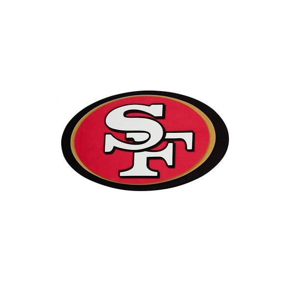 NFL San Francisco 49ers Logo Foam Sign