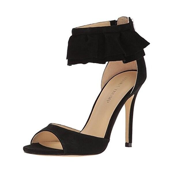 Ivanka Trump Womens Herlle Evening Heels Open Toe Ankle