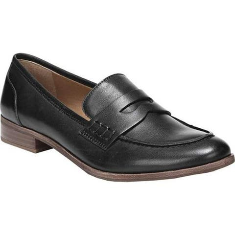 536ac62ea Sarto by Franco Sarto Women s Jolette Penny Loafer Black Leather