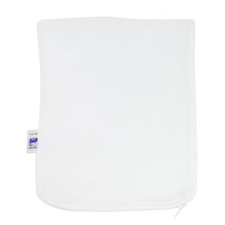 2 Pcs 210mm x 150mm Fishes Isolation Net Bags Breeder White for Fish Tank