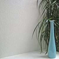 Brewster 437-RD751 Hurstwood Paintable Textured Vinyl Wallpaper - N/A