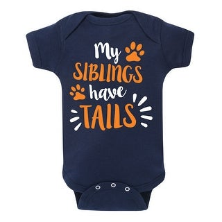 My Siblings Have Tails - Infant One Piece