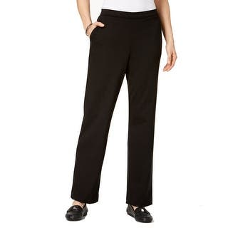 b2ff633cc2d Quick View. Was  21.97.  4.39 OFF. Sale  17.58. Alfred Dunner Solid Black Women s  Size 8 Pull-On Dress Pants