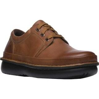 Propet Men's Village Walker Cognac Leather