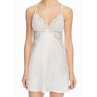 Link to In Bloom by Jonquil White Women's Size Medium M Sleepwear Chemise Similar Items in Intimates