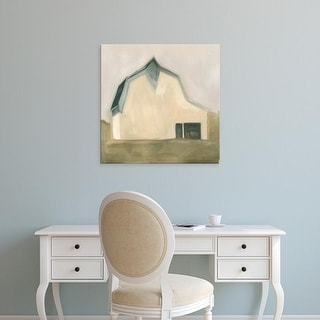 Easy Art Prints Emma Scarvey's 'Serene Barn IV' Premium Canvas Art