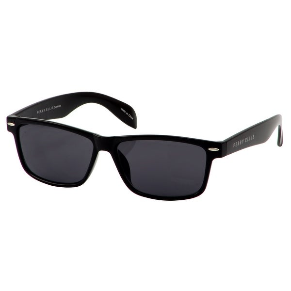 c229d3b01d Shop Perry Ellis Mens Plastic Sunglasses Black PE27-3