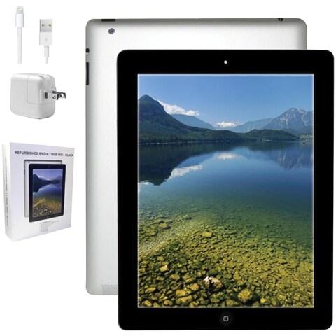 Apple - Md510lla-Er - 16Gb Refurb Ipad 4 Blk