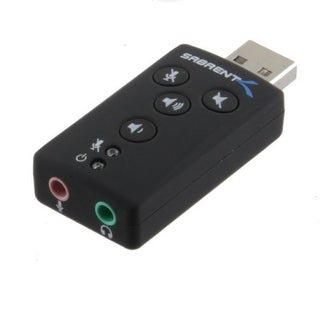 Sabrent Usb-Sbcv Usb Sound Adapter 2.1N
