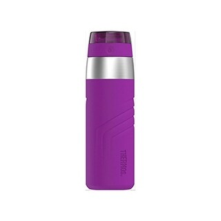 Thermos 20oz Purple Vacuum Insulated Stainless Steel Sporty Direct Drink Bottle